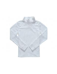 """Блузка для девочек молочного цвета """"Луна"""""""